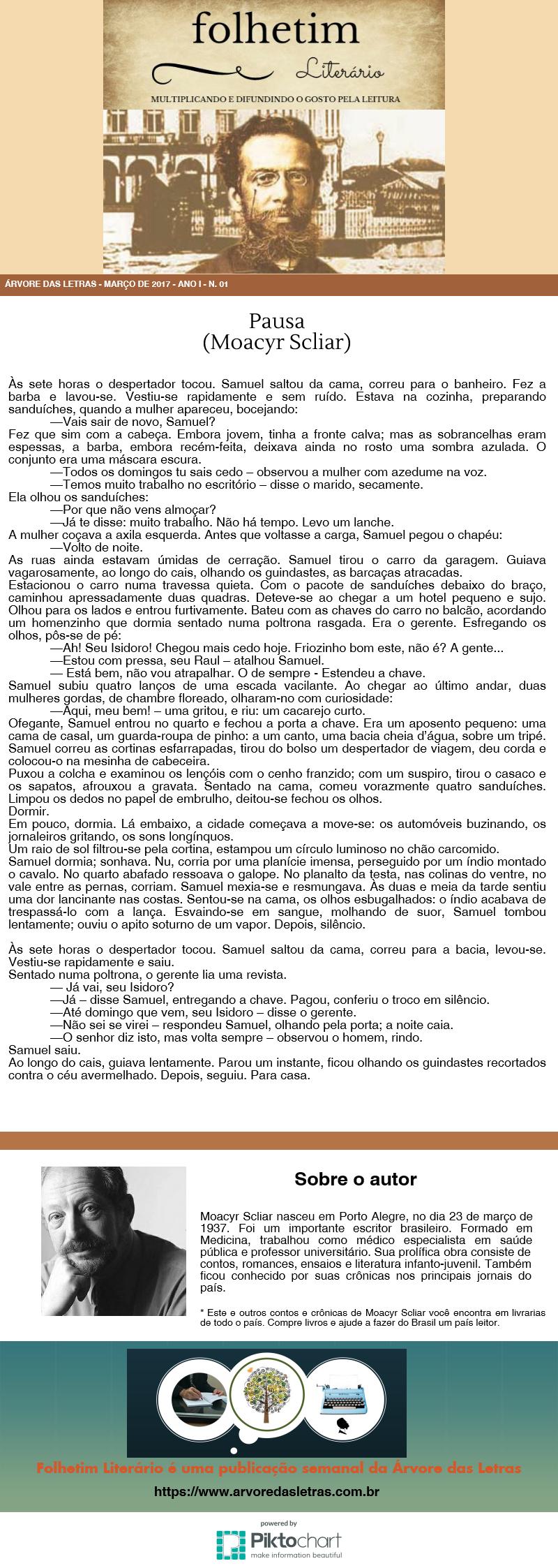 Pausa - Moacyr Scliar